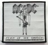 AC/DC - 'Flick of the Switch' Woven Patch